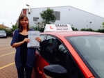 Janette Gunn 6/8/15 passed with Diana's School of Motoring