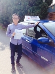 Lawrence 22/09/14 passed with Diana's School of Motoring