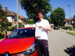 Lawrence 30/6/15 passed with Diana's School of Motoring