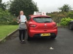 Michaela passed with Diana's School of Motoring