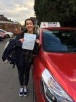 Orestiana passed with Diana 1st time passed with Diana's School of Motoring