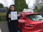 New passer added 02/05/2017 passed with Diana's School of Motoring
