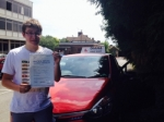 Matt 1/7/15 passed with Diana's School of Motoring