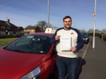 rhys passed with Diana's School of Motoring