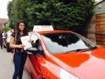 Arty 7/7/15 passed with Diana's School of Motoring