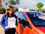 Rebecca passed with Diana's School of Motoring