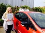 Kayleigh passed with Diana's School of Motoring