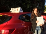 tanya patel 8/11/16 passed with Diana's School of Motoring