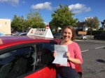 Laura Jackson 30/09/16 passed with Diana's School of Motoring