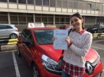 shandana passed with Diana's School of Motoring