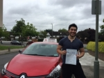 Pyam 8/7/16 passed with Diana's School of Motoring
