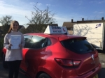 emily 24/2/16 passed with Diana's School of Motoring