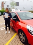 Sasha 5/5/15 passed with Diana's School of Motoring