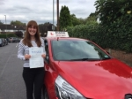 Laura Taylor  passed with Diana's School of Motoring