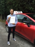 Natalie passed with Diana's School of Motoring