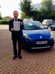 Tom 29/08/14 passed with Diana's School of Motoring