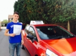 Alex. 11/09/15 passed with Diana's School of Motoring