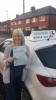 Michelle passed with Highway 2 L