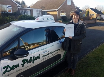 Congratulations to Laura who passed her Automatic Driving Test this morning at #Norwich in #Bumble #TPDC <br />