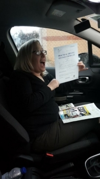 Congratulations to Rachael Dixon Smith who passed her Automatic Driving Test this afternoon at #Norwich in #Bumble #TPDC<br />