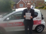 Majed passed with Dave Pickford Automatic Driver Training