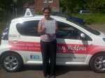 Irosha passed with Dave Pickford Automatic Driver Training