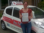 Julia Questa passed with Dave Pickford Automatic Driver Training