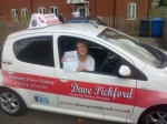 Denise Slattery-Curran passed with Dave Pickford Automatic Driver Training