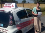Kim Chard passed with Dave Pickford Automatic Driver Training