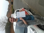 Julian Pye passed with Dave Pickford Automatic Driver Training