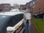 Helen Angel passed with Dave Pickford Automatic Driver Training