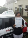 Jeslin Joseph passed with Dave Pickford Automatic Driver Training