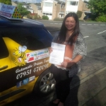 Katrina passed with Dave Pickford Automatic Driver Training