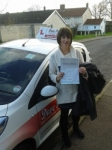Lynda catterwell passed with Dave Pickford Automatic Driver Training