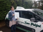 Alison passed with Dave Pickford Automatic Driver Training
