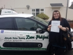 Amanada passed with Dave Pickford Automatic Driver Training