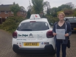 Amy passed with Dave Pickford Automatic Driver Training
