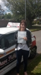 Amy B passed with Dave Pickford Automatic Driver Training