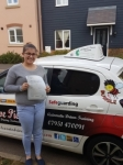 Amy P passed with Dave Pickford Automatic Driver Training