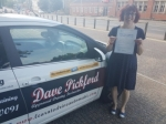 Amy Straker passed with Dave Pickford Automatic Driver Training