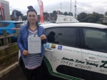 Anna passed with Dave Pickford Automatic Driver Training