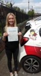 Annie Howard passed with Dave Pickford Automatic Driver Training