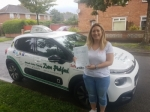 Ashliegh passed with Dave Pickford Automatic Driver Training