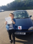 Becky passed with Dave Pickford Automatic Driver Training