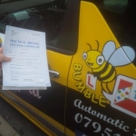 Cassandra passed with Dave Pickford Automatic Driver Training