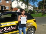 Chantelle passed with Dave Pickford Automatic Driver Training
