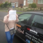 Charlene passed with Dave Pickford Automatic Driver Training