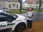 Charli passed with Dave Pickford Automatic Driver Training