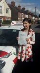 Charlotte G passed with Dave Pickford Automatic Driver Training