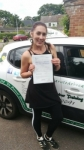 Christina D passed with Dave Pickford Automatic Driver Training
